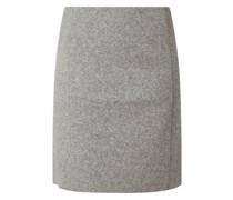 Minirock aus Wollmischung Modell 'Odena'