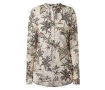 Blusenshirt mit Allover-Muster Modell 'Janice'