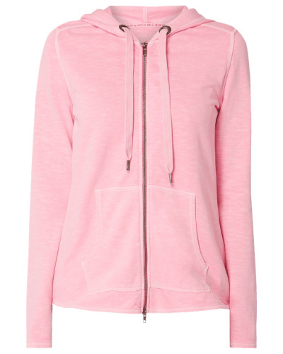 Sweatjacke aus Organic Cotton