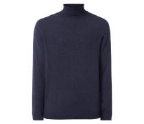 Rollkragen-Pullover aus Woll-Kaschmir-Mix