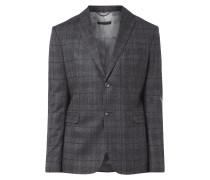 Anzug aus Schurwolle im Glencheck