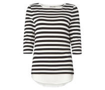 Shirt mit Saum im Double-Layer-Look
