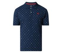 Poloshirt mit Allover-Muster