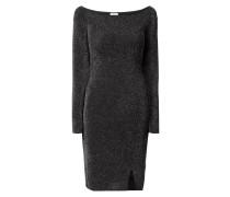 Kleid mit eingearbeitetem Effektgarn