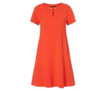 Kleid in A-Linie mit Schmuckdetail