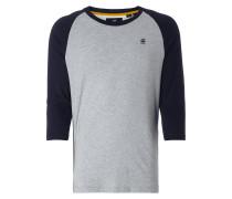 Shirt mit Raglanärmeln in 3/4-Länge