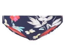 Bikinislip mit floralem Muster