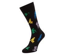 Socken mit 'Monty Python'-Muster