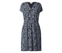 Kleid mit Allover-Muster Modell 'Laavi'