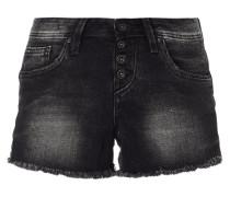 Jeansshorts mit Used-Effekten