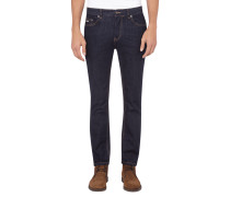 Slim Fit Jeans mit Rinsed Waschung