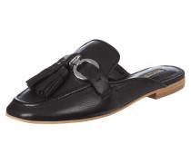 Loafer aus Leder mit Zierquasten