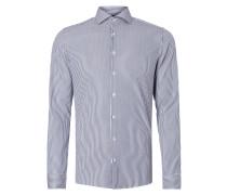 Slim Fit Business-Hemd mit Römerstreifen