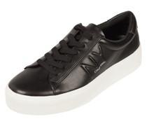 Plateau-Sneaker aus Leder Modell 'Jamella'