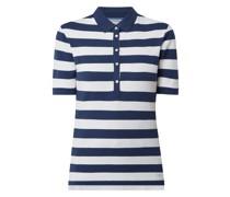 Poloshirt aus Piqué Modell 'Cleo'