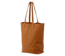 Tote Bag aus genarbtem Leder