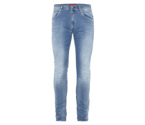Double Stone Washed Jeans