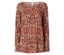 Blusenshirt mit Allover-Muster Modell 'Erika'