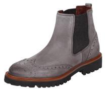 chelsea boots aus echtem veloursleder. Black Bedroom Furniture Sets. Home Design Ideas