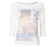 Shirt mit Print und Glitter-Effekt