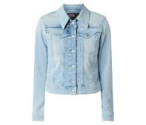 Jeansjacke mit geknöpften Pattentaschen Modell 'Somerton'