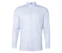 Super Slim Fit Business-Hemd mit Webmuster
