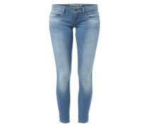 Skinny Fit Stone Washed Jeans