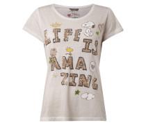 T-Shirt mit Peanuts©-Print und Message