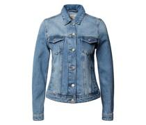 Jeansjacke mit geknöpften Pattentschen