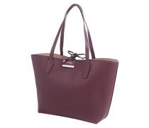 Wende-Shopper inklusive Reißverschlusstasche