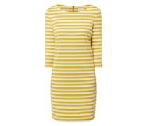 Jerseykleid mit Streifenmuster Modell 'Tinny'