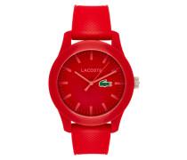 Uhr  aus robustem Kunststoff mit Dornschließe
