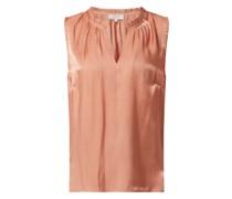 Blusenshirt aus Satin Modell 'Cecille'
