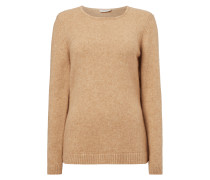 Pullover im Feinstrick - meliert