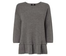 Pullover mit Schößchen