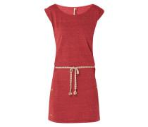 Jerseykleid mit Taillengürtel