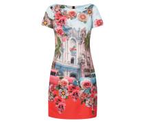 Kleid mit Foto-Print