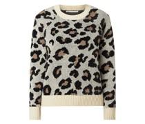 Pullover mit Leopardenmuster Modell 'Erin'
