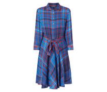 Kleid mit Tartanmuster