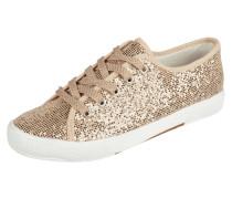 Sneaker aus Textil mit Glitter-Effekt