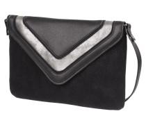 Crossbody Bag mit Zierstreifen in Metallicoptik