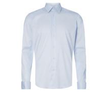 Regular Fit Business-Hemd mit Umschlagmanschetten