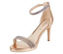 Sandalette mit Strasssteinen Modell 'Selma'