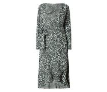 Wickelkleid aus Krepp Modell 'Valerie'