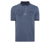Poloshirt mit Prints und Logo-Stickerei