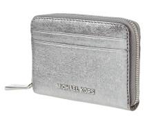 Geldbörse aus Leder in Metallicoptik