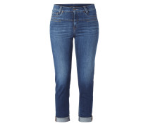 Stone Washed High Waist 5-Pocket-Jeans