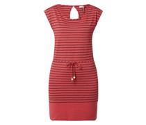 Jerseykleid mit Streifenmuster Modell 'Soho'