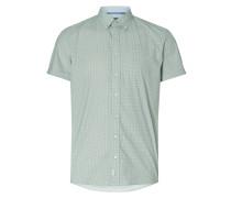 Shaped Fit Freizeithemd mit kurzen Ärmeln