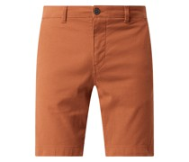 Chino-Shorts mit Stretch-Anteil Modell 'Chester'